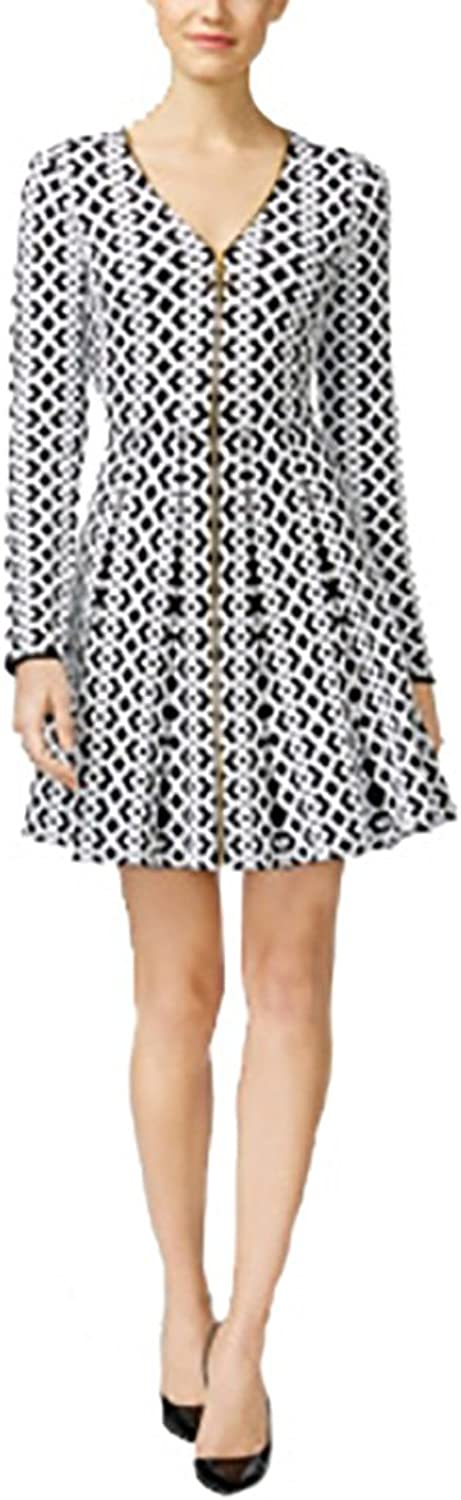 INC International Concepts Fit Flare Sweater Dress