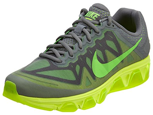 NIKE Men's Air Max Tailwind 7 Cool Grey/Green Strike/Volt Running Shoe 9.5 Men US