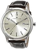 TOM TAILOR Watches Herren-Armbanduhr Analog Quarz Leder 5415002