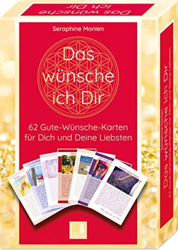 62 Gute Wünsche Karten | Das wünsche ich Dir | Achtsamkeitskarten | Orakelkarten | Impulskarten | Geschenkidee | Kartenset