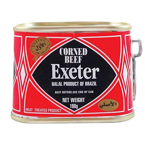 Exeter - Corned Beef Original - Carne en Conserva Original -Industria Brasilera - 198 Gramos