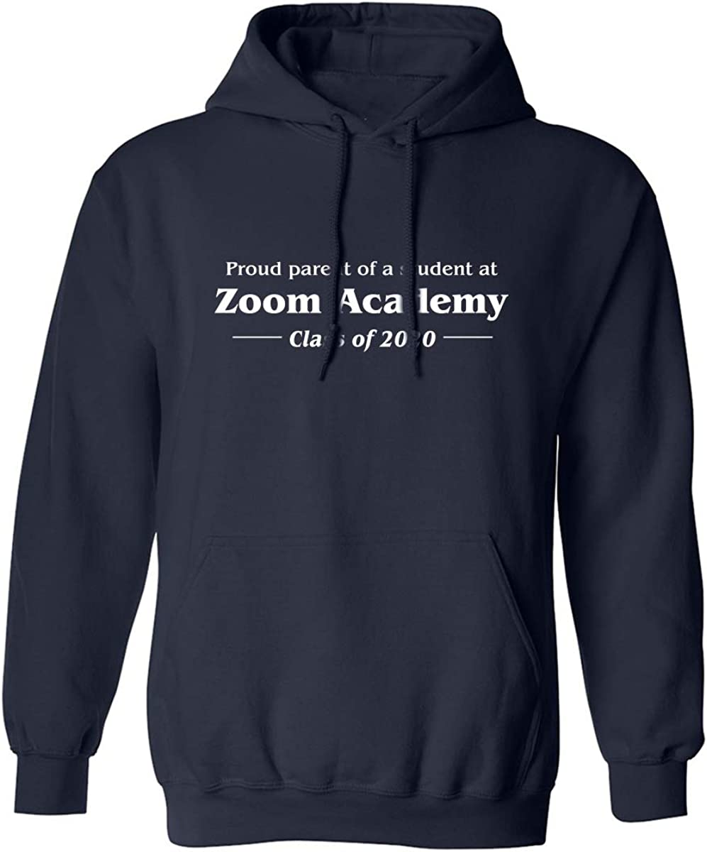 Proud Parent Of A Student At Zoom Adult Hooded Sweatshirt