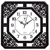 Mariisay Reloj De Pared Creativo Sencillo Moderno Chic Casual Silencio Alrededor De 12 Pulgadas (Diámetro 30 5 Cm) Material Metal Púrpura 2 Reloj De Pared Antiguo Vintage Diseño Estilo Rústico Moderno