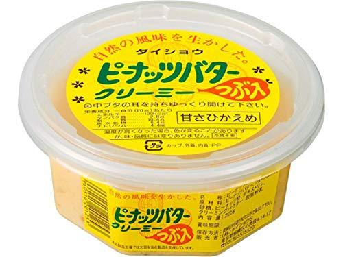 ダイショウ ピーナッツバタークリーミー 粒入り おまとめ買い(225g×12個)