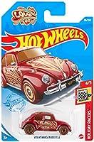ホットウィール(Hot Wheels) ベーシックカー フォルクスワーゲン ビートル HCM31