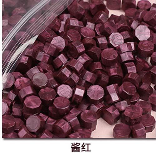 500g vintage zegellak tablet pil kralen envelop lakzegel sticks voor envelop bruiloft lakzegel oude zegellakken 1650 stks, saus rood