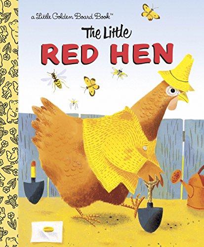 The Little Red Hen (Little Golden Board Books)