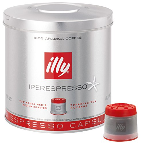 Illy Metodo Iperespresso Espresso-Kapseln, normale Röstung, 21 Kapseln (1 x 140,7g)