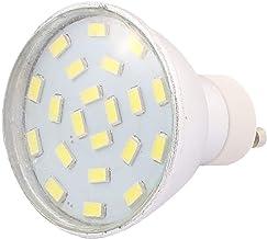 X-DREE 220V-240V GU10 LED Light 3W 5730 SMD 21 LEDs Spotlight Down Lamp Bulb Energy Saving Pure White(Lampadina 220V-240 ν...
