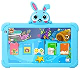7 Kids Tablet Android Tablet for Kids WiFi Toddler Tablet 1G+16GB Quad Core Kids Tablets with Bluetooth Camera Support Google Play Store Netflix YouTube Parental Control Kids Learning Tablet (Blue)