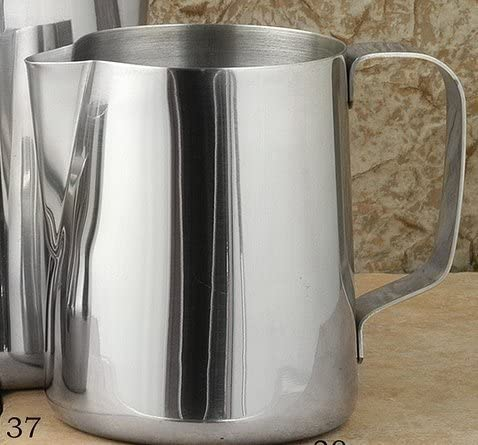 European Gift and Houseware Award Rapid rise Stainless Frothing Pitcher 32 Steel