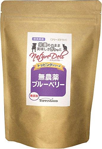 無添加 国産の奈良県産・無農薬ブルーベリー(フリーズドライ)-Mサイズ35g 約10〜18日分