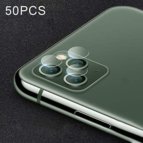 ZHOUSITONGEU film 50 stuks Soft Fiber Back Camera Lens Film for iPhone 11 Pro