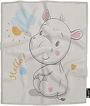 Best hippopotamus baby blanket Reviews