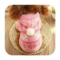 秋の新しい犬服ペット服テディ服Bi Xiong Bomei VIPシュナウザー服-ピンク-M背丈30cmバスト40cm