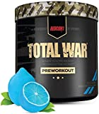 Redcon1 Total War - Pre Workout, 30 Servings, Boost Energy, Increase Endurance and Focus, Beta-Alanine, Caffeine (Blue Lemonade)