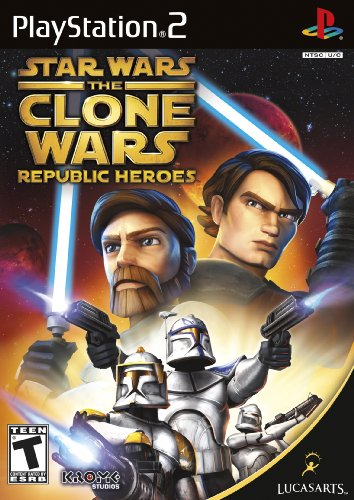 Star Wars the Clone Wars: Republic Heroes PS2 [Englisch Uncut]