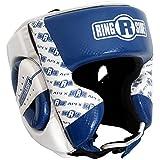 Apex Headgear, Blue/White, Small/Medium
