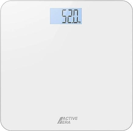Active Era® Ultra Slim Digital Bathroom Scales with High Precision Sensors (Stone/kgs/lbs) - Gloss White