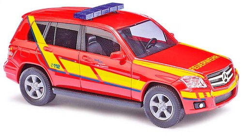 Busch Voitures - BUV49764 - Modélisme - Mercedes-Benz - Pompiers - Classe GLK