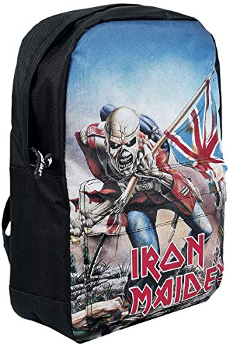 Iron Maiden Trooper Unisex Rucksack schwarz 100% Polyester Band-Merch, Bands