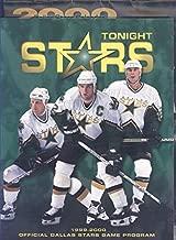 Stars Tonight Hockey Program 1999-2000 (Stars Vs. Anaheim Mighty Ducks) Includes a Complete 2000 Dallas Stars Calendar