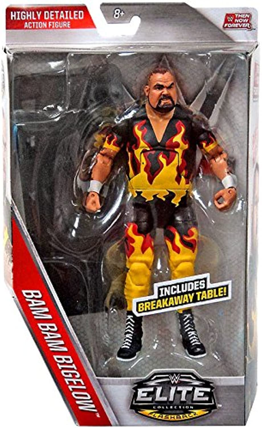 WWE, Elite Collection Then Now Forever, Bam Bam Bigelow Action Figure