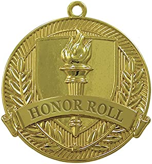 Honor Roll Gold Medal (Set of 25)