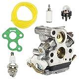 QIANXUNBAIHUO Carburador para H&usqvarna 135 140 140e 435 440 440e 440e Piezas de Motosierra Reemplace el Motor de carburador Motor en carbohidratos Carburador Motocicleta