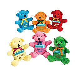 Plush Prayer Bears
