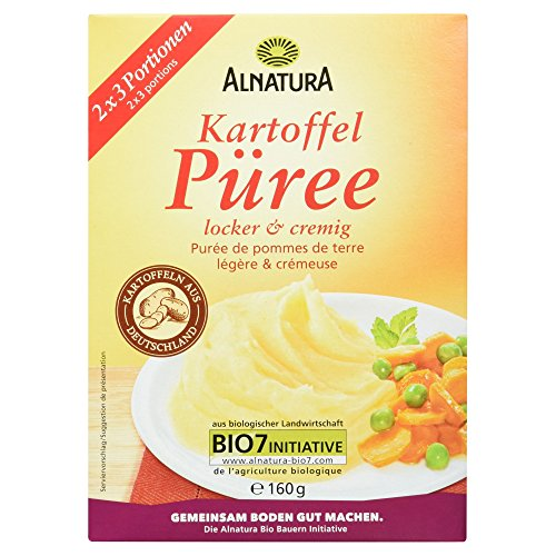 Alnatura Bio Kartoffelpüree, 10er Pack (10 x 160 g)