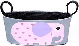 منظم اغراض لعربة الاطفال - حقيبة اكسسوارات لعربة الاطفال - شكل فيل