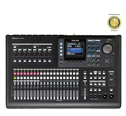 Tascam DP-32SD 32-Track Digital Recorder Portastudio