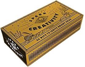 Spark Creativity: 50 Ways to Ignite Bright Ideas (Inspirational Gift, Holiday Stocking Stuffer)