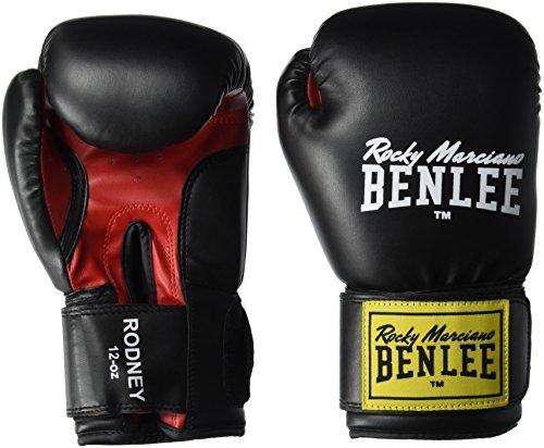 BENLEE Boxhandschuhe RODNEY PU Training Gloves - Black/Red Größe 6