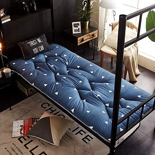 JKL J-Almohada Gruesa Estera del Piso de Tatami, futón japonés Tradicional Tatami Piso colchón Suave y Transpirable Dormir cojín, Estudiante Dormitorio Cojín Cama