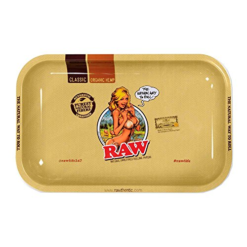 Bandeja de Liar Rolling Tray RAW Small RAW GIRL (275x175mm)