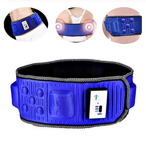 Elektrische Schlankheitsgürtel, Vibrations Schlankheits Massagegürtel, Gewichtsverlust Massagegerät, Vibration Bauch Bauchmuskel Taille Trainer Stimulator