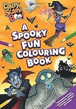 Creepy, Scary, Boo! - A Spooky Fun Colouring Book