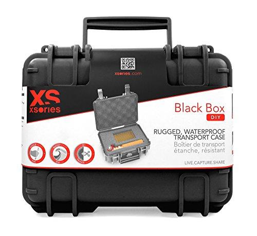 X-Sories Black Box DIY Koffer für Kamera schwarz