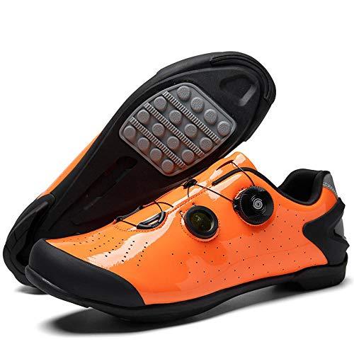 KLGZ Calzado de CiclismoZapatos Antideslizantes para Hombres Y Mujeres Sin Los Zapatos...