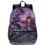 3D Escolar Mochila con mochila-Guardianes de la Galaxia-Adecuado para: estudiantes de primaria y...