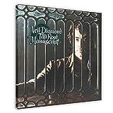 Neil Diamond Album Cover Tap Root Manuskript Leinwand