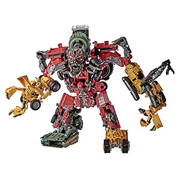 Transformers Toys Studio Series 69 Revenge of The Fallen Devastator Constructicon Action Figures 8-Pack - Kids Ages 8 and Up 14-inch
