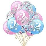 TAOtTAO 30,5cm Ballons en Latex 10x/15x Fête de Mariage Baby Shower Anniversaire Décoration, E, 16 inch (Approx 40cm)