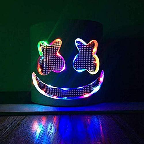 promociones emocionantes Yansy máscara máscara máscara para Disfraz de Cosplay, Casco para Halloween, Accesorios de Fiesta, Marshmallow, DJ, Accesorios de graduación Colorful  descuento de bajo precio