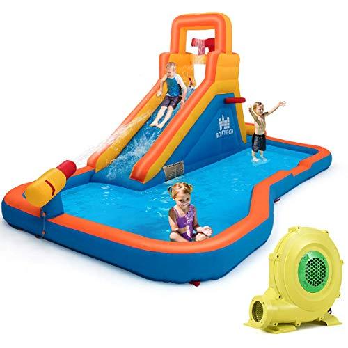 Costzon Inflatable Water Slide
