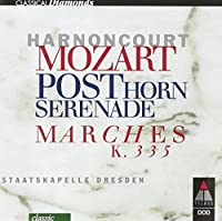 Serenade.9: Harnoncourt / Skd