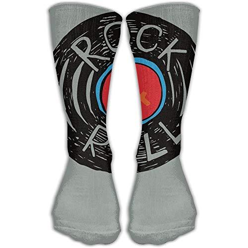 Zome Lag Unisex Classics Socken Rock N Roll Athletic Strümpfe Lange Socke