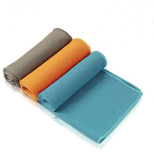 Amazon Brand - Eono 3 Pcs Toalla de enfriamiento, Toalla de Hielo fría instantánea, Toalla...